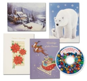 Holiday Card with CD