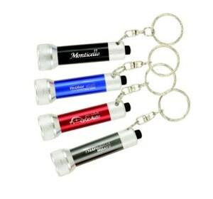 7 LED Flashlight Key Chain