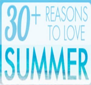 30+ reasons to love summer