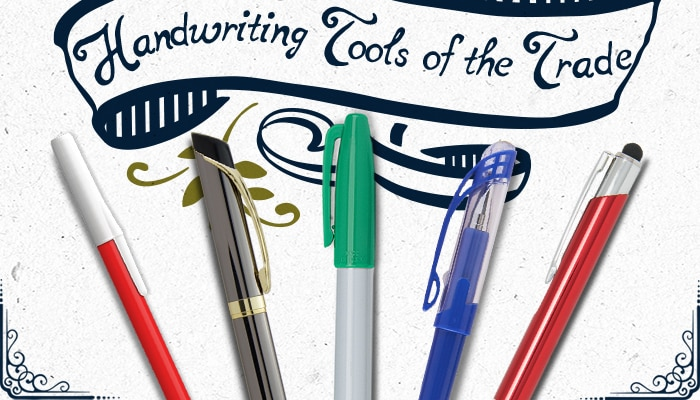 Handwriting Tools of the Trade - National Pen