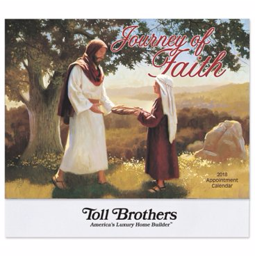 Journey of Faith Religious Wall Calendar