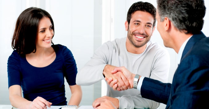 Couple Planning Insurance Coverage with Agent
