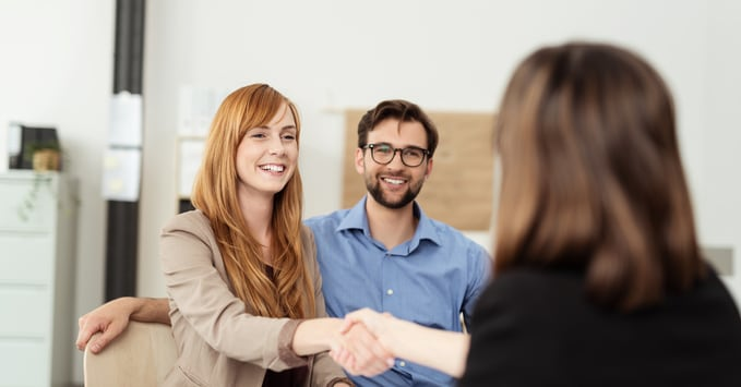 Employee Connecting with Customers