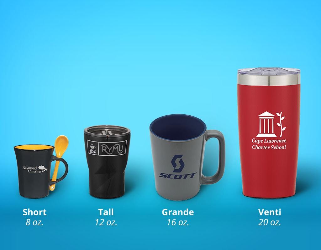 What Size Logo Mug Should I Buy Coffee Mug Sizes Explained National Pen