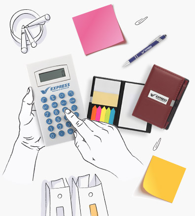 engraved Promotional Calculators for brand awareness
